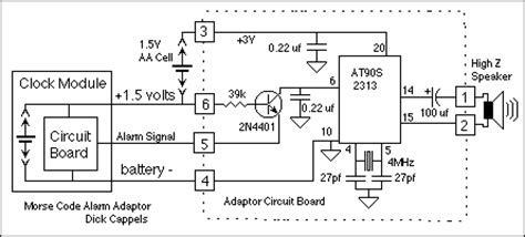 gt meter counter gt clock circuits gt morse code alarm clock l7081 next gr