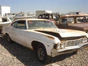 Chevrolet Used Auto Parts 1967 Chevrolet Impala 67ch2506d Desert Valley Auto Parts
