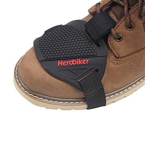 motorcycle boot protector herobiker motorcycle gear shifter shoe boots protector