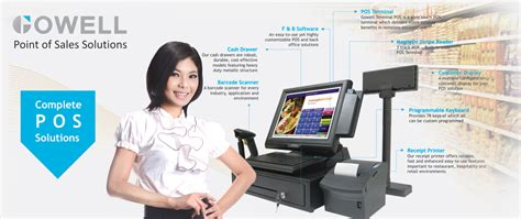gowell 355 pos terminal point of sales