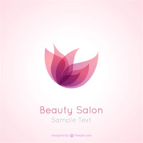 beauty salon logo vector free download