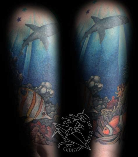 underwater tattoo sleeve 142 best images about on ink sea