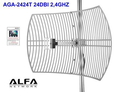 kit dish antenna wifi alfa 24dbi wifi usb rt3070 3m