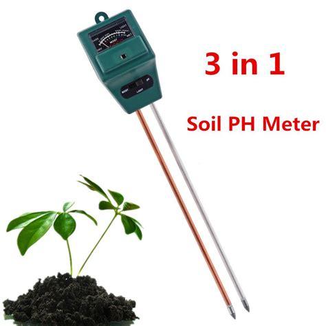 Soil Ph Moisture Meter 3 in 1 ph soil tester moisture light sensor ph meter for