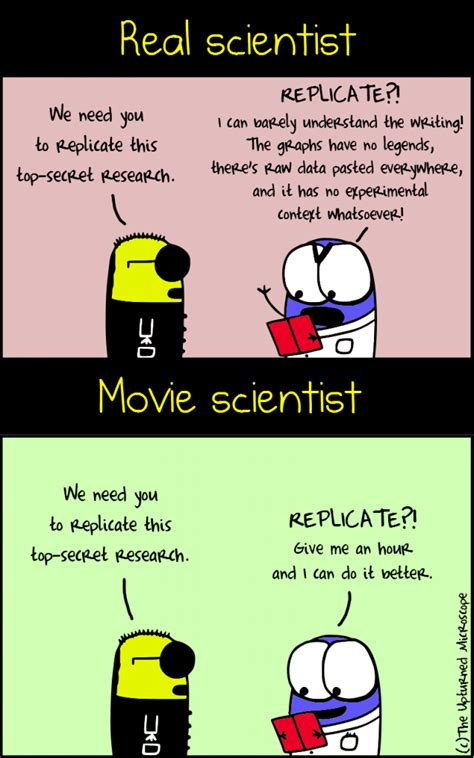 biography movie of scientist right turn the comic side of lab life signals blog