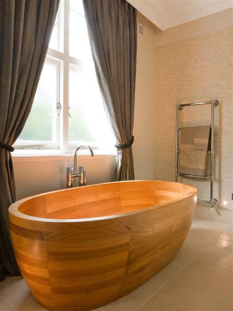 making a wooden bathtub 25 amazing bathrooms with wooden bathtub