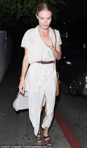 kate bosworth is a sheer delight in white on night out