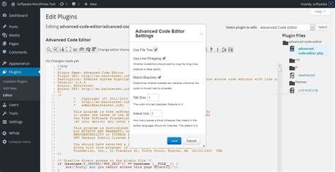 advanced layout editor wordpress how to improve the wordpress built in code editor