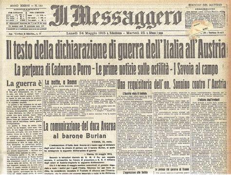 prima in italia l italia entra nella prima guerra mondiale il 24 maggio