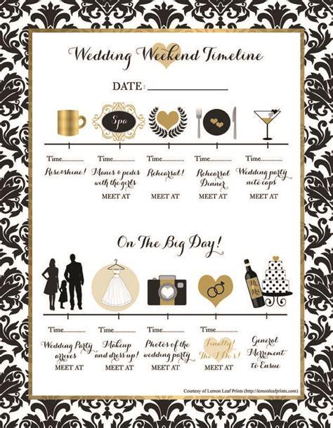 Wedding Weekend Checklist by 25 Best Ideas About Wedding Weekend On