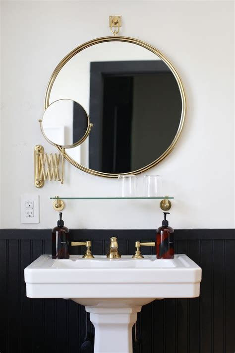 Bathroom Sink Mirror by 25 Best Ideas About Pedestal Sink On Pedestal