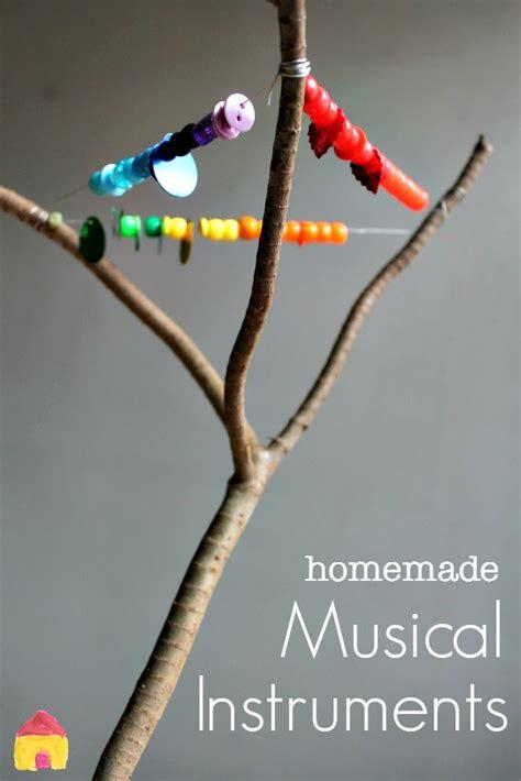 homemade instruments ideas  pinterest