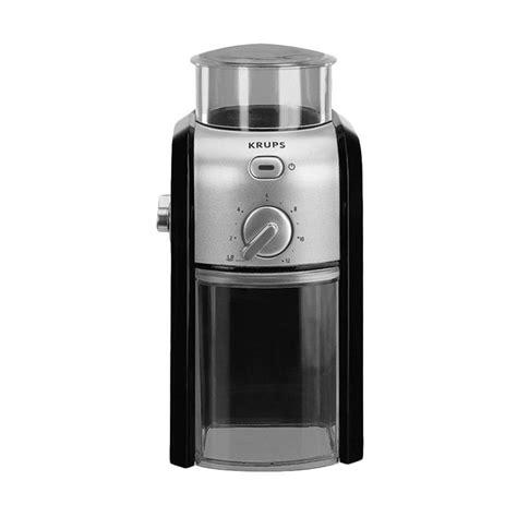 Coffee Maker Krups Harga jual krups gvx2 burr coffee grinder mesin penggiling kopi