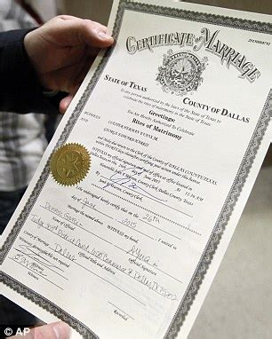 State of texas marriage license rules
