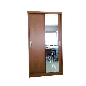 Lemari Kayu Panel dt furniture collection lemari pakaian sliding 2 pintu