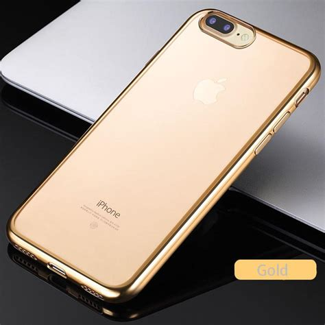 Casing Cover Iphone 7 7plus Ipaky Luxury New Generation iphone 7 luxury ultra thin clear rubber electroplating tp mycase