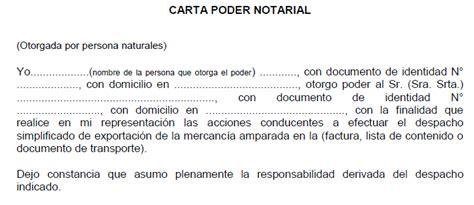 ejemplo de carta poder notarial car pictures ejemplo de poder notarial formato de carta poder notarial