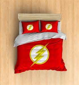 Superhero Duvet Set The Flash Bedding Superhero Duvet Cover The Flash By