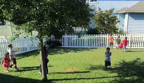 kids playing in backyard home play with words blog