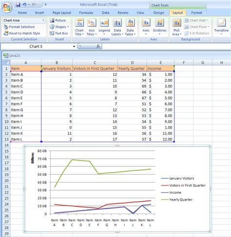 bar chart format excel 2007 excel format line and bar charts
