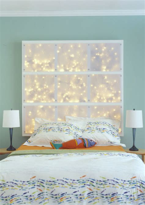 diy headboards with lights diy headboard ideas 187 curbly diy design community