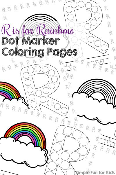 rainbow dot coloring page 90 do a dot coloring pages printables rainbow do a