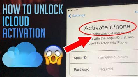 unlock icloud activation lock  iphone