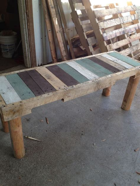 pallet benches pinterest pallet bench things i ve made pinterest pallet