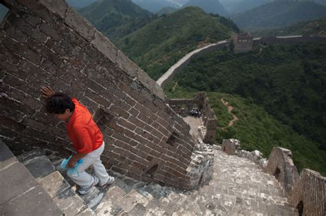 sections of the great wall 301 moved permanently
