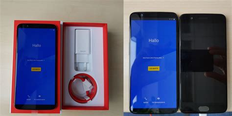 oneplus 5t unboxing is this the one oneplus 5t gets unboxed ahead of announcement compared