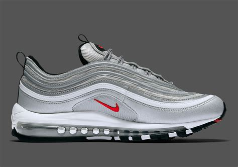 nike air silver nike air max 97 silver bullet us release date