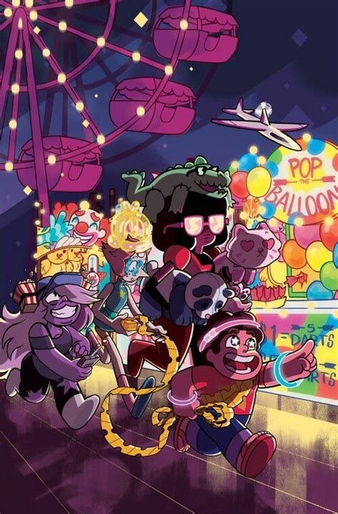 Poster Adventure Time Universe 3 20x30cm 1 steven at the carnival steven universe the