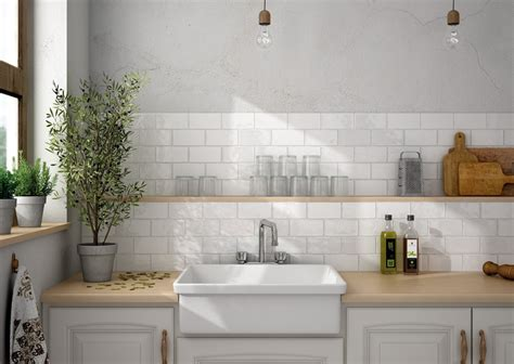 Mini Subway Tile Kitchen Backsplash by Put Brick Metro Tiles On Your Wall