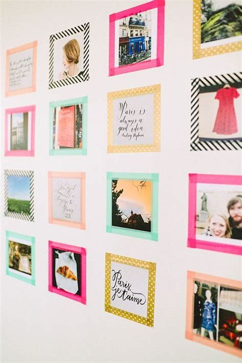 how to stick paper to wall without permanently damaging - How To Stick Decorations Without Damaging Walls