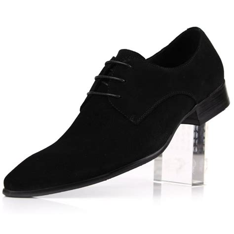 mens black suede dress boots new suede real leather business s dress shoes formal