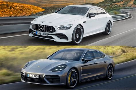 4 door porsche refreshing or revolting mercedes amg gt 4 door vs