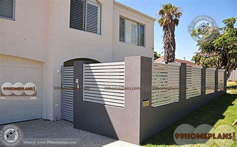 boundary wall design for home boundary wall design with gate with pretty