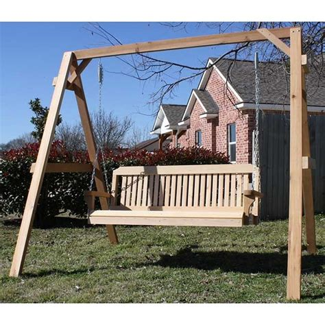 wooden swing adult tmp outdoor furniture traditional cedar wood swing sets adult