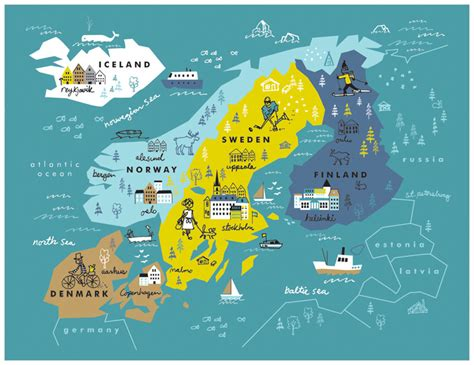 the languages of scandinavia seven of the books destinations tea collection