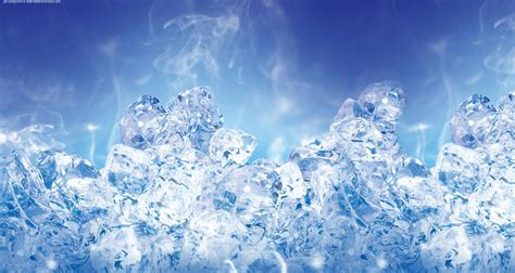 ice pattern psd photoshop tutorial cold text effect geniuz design