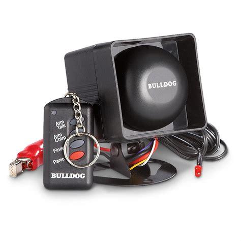 Alarm Bulldog bulldog 174 talking alarm system 236175 accessories at