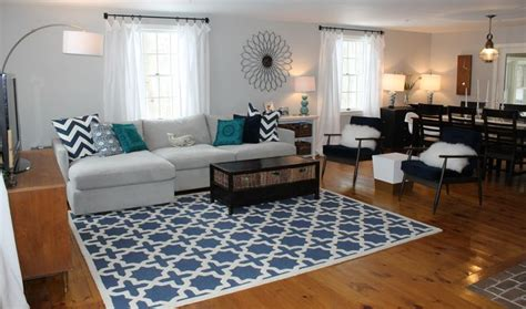 gray teal and navy living rooms pinterest