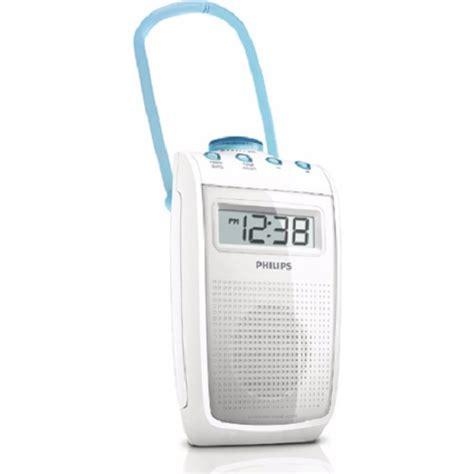 philips bathroom radio ae2330 philips ae2330 00 bathroom shower splashproof clock radio