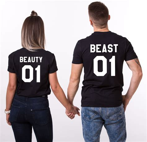 The Tshirt 01 01 beast 01 matching couples shirts unisex