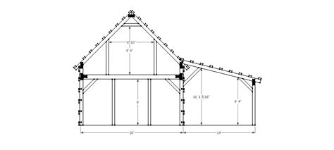 gable barn plans 20x40 gable barn plans