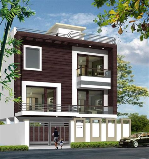 home exterior design india residence houses indian house exterior design brucall com