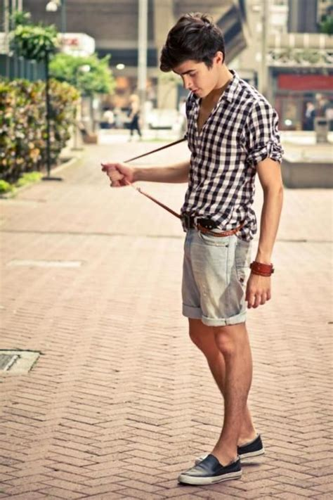 8 Great Looks For Casual Friday by Casual Friday Checks And Shorts