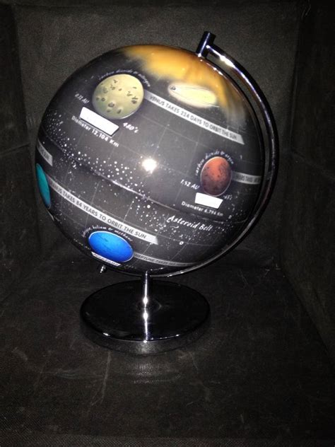 Light Up Solar System A Light Up Globe Of Our Solar System By Globee