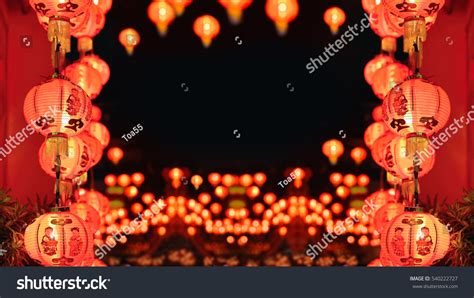 official new year in china new year lanterns china town stock photo 540222727