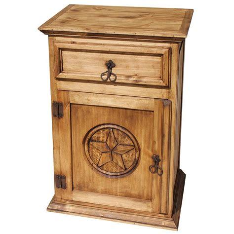 mexican rustic bedroom furniture rustic furniture texas mexican rustic pine nightstand door opens left